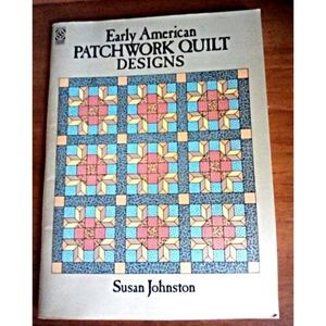 Vtg 80s Early American Patchwork Quilt Patterns